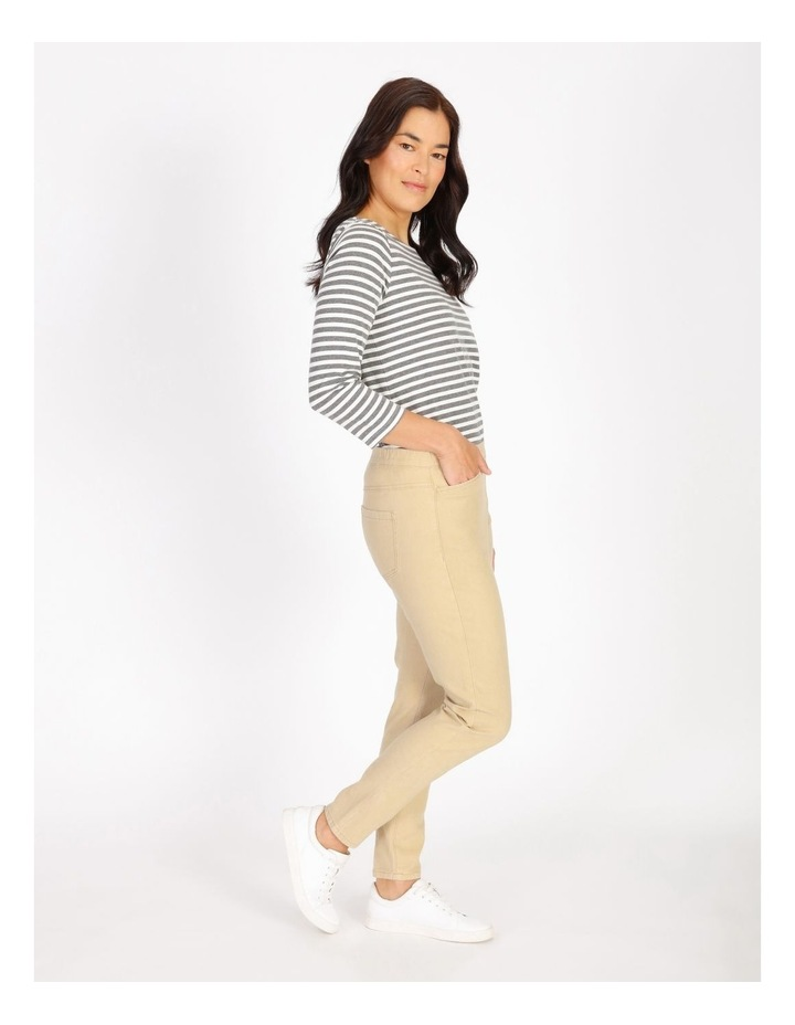 Elastic Waist Pant With Front & Back Pockets image 2