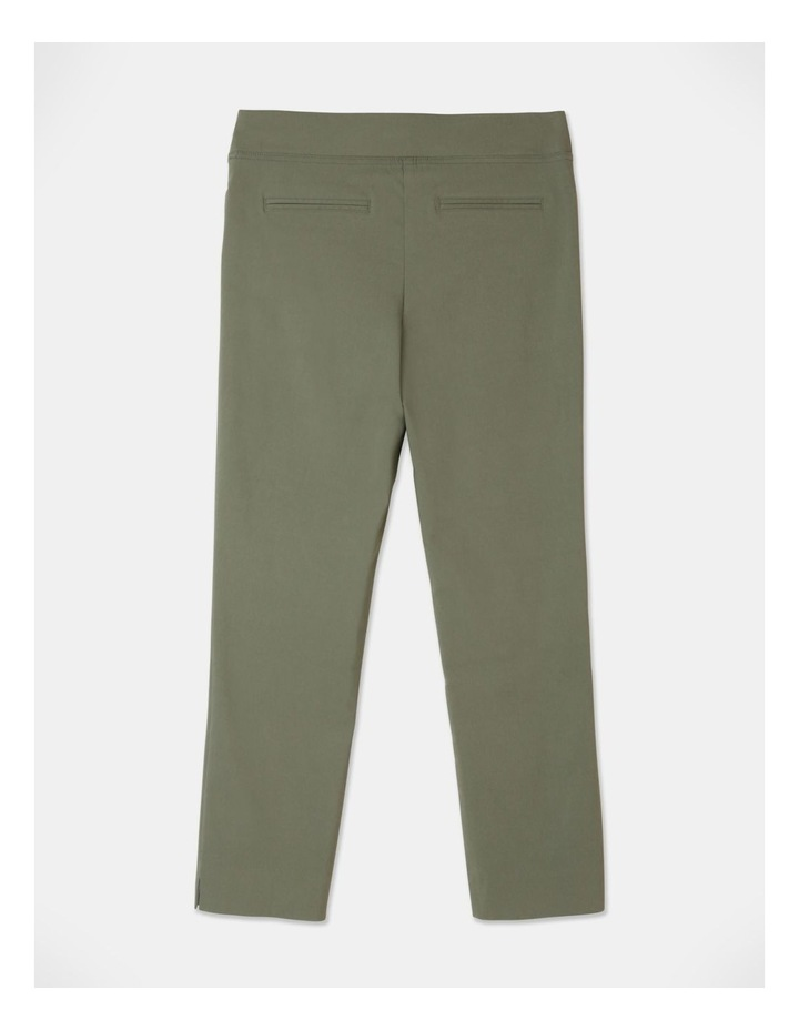 Wardrobe Staple Stretch Crop Pant Khaki image 3