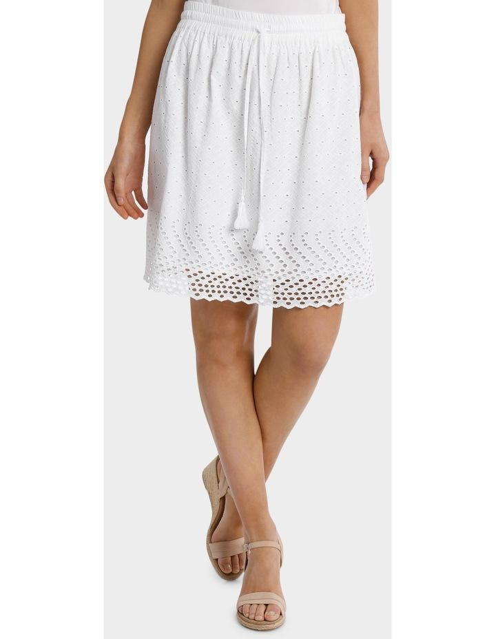 Broderie Pull On Skirt image 1