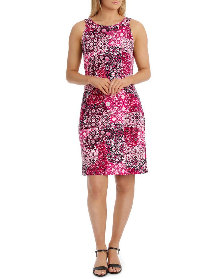 Tile Jersey Sleeveless Dress image 1