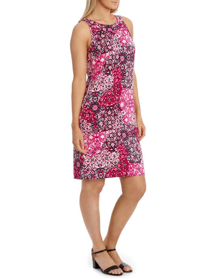 Tile Jersey Sleeveless Dress image 2