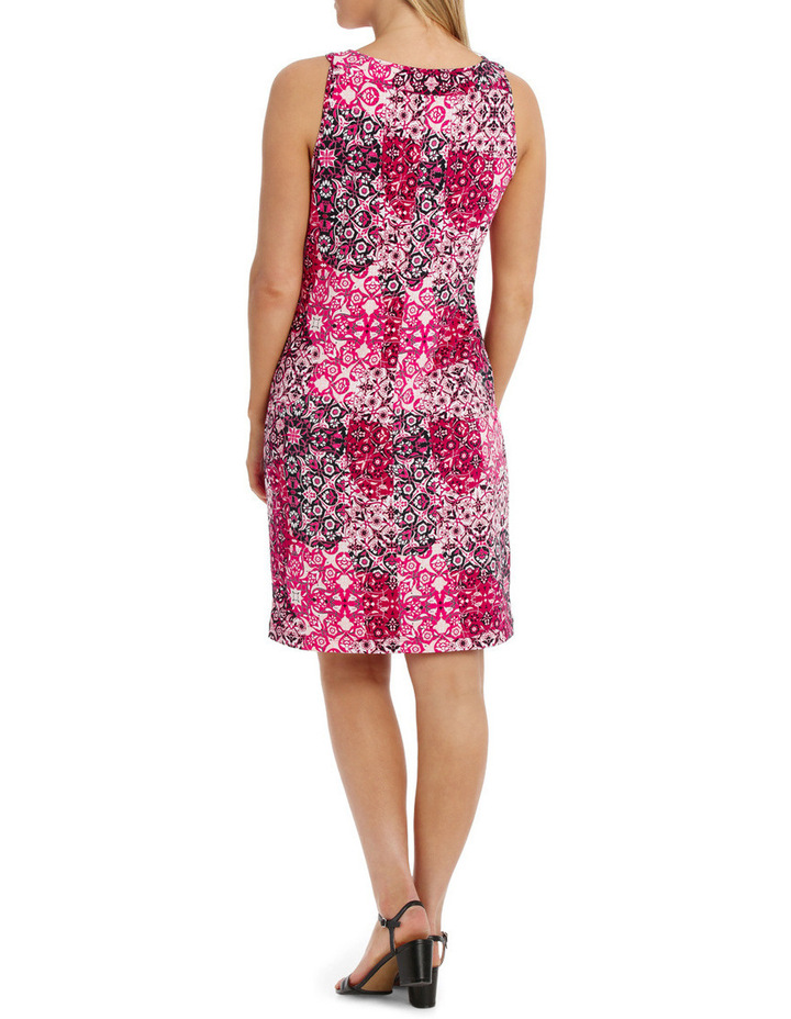 Tile Jersey Sleeveless Dress image 3