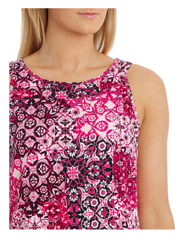 Tile Jersey Sleeveless Dress image 4