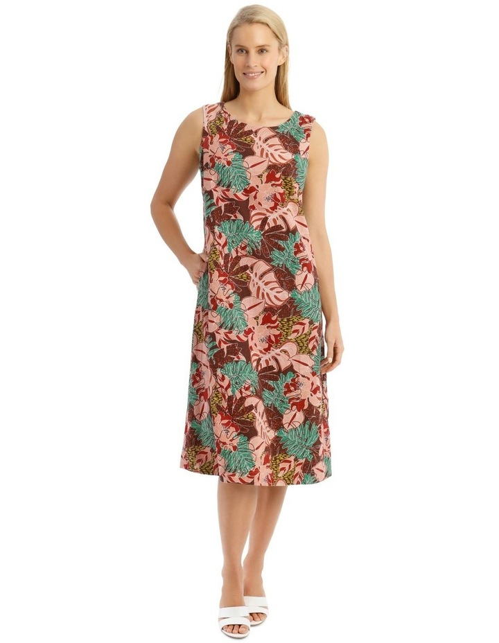 Sleeveless Midi Dress image 1