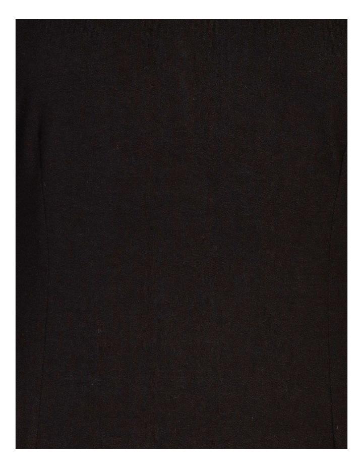 Tucked V-Neck 3/4 Sleeve Dress image 5