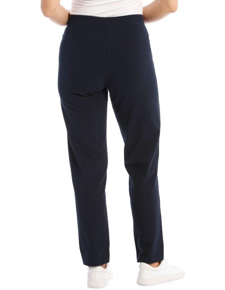 Slim Leg Trackpant - Navy image 3