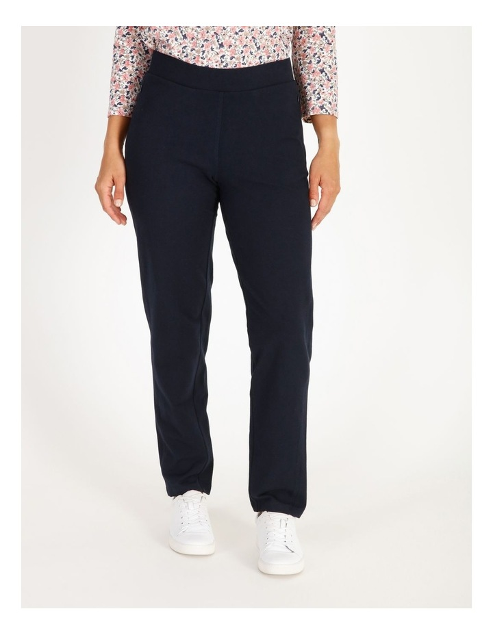Leisure Slim Leg Trackpant With Zip Pockets image 1