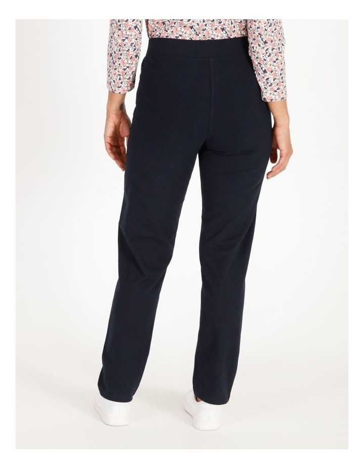 Leisure Slim Leg Trackpant With Zip Pockets image 3