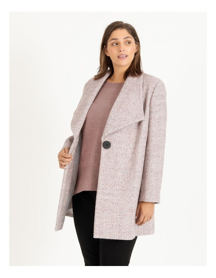 Confluence Shawl Collar Coat With Single Button image 1