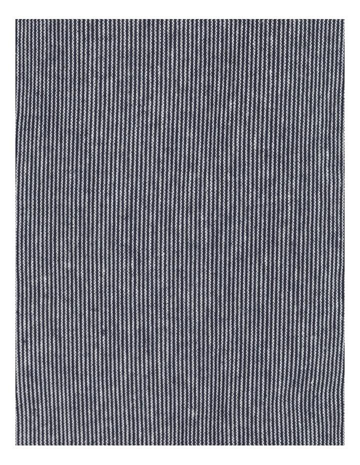 Linen Blend Jean Style Jacket Navy/White Stripe image 7