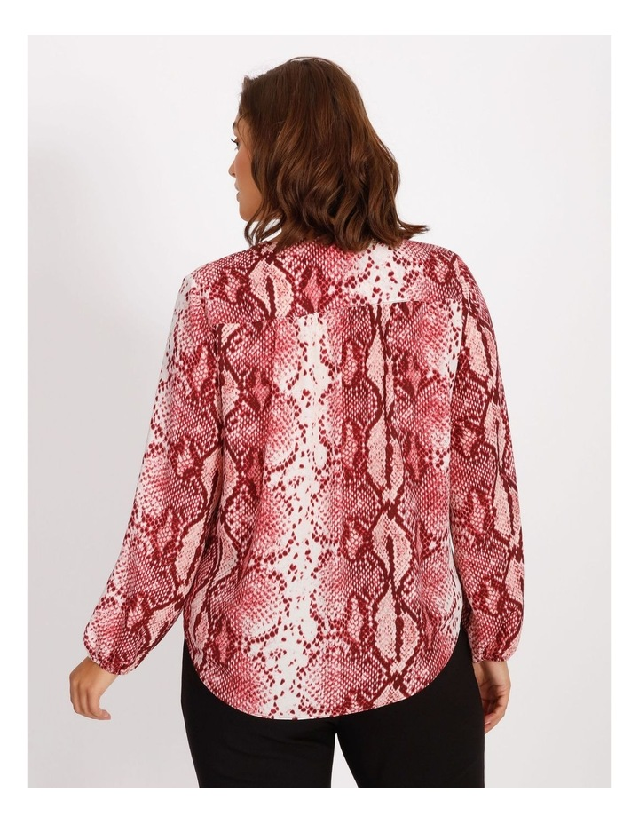 Confluence Cross Over Front Long Sleeve Top image 3
