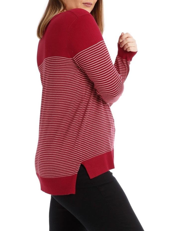 Long Sleeve Stripe Jumper image 2