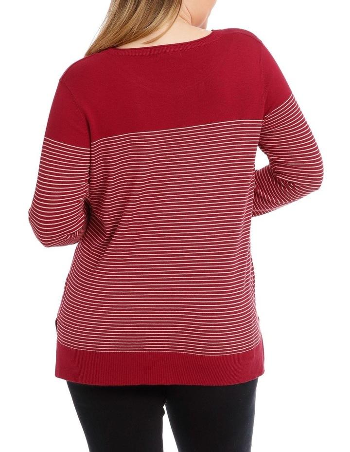 Long Sleeve Stripe Jumper image 3