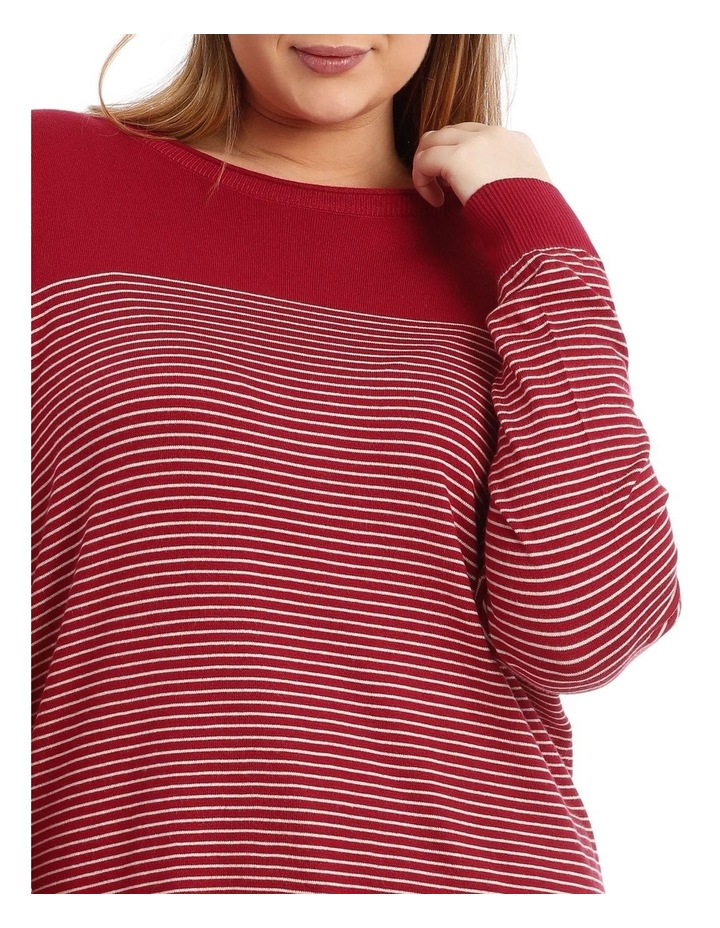Long Sleeve Stripe Jumper image 4