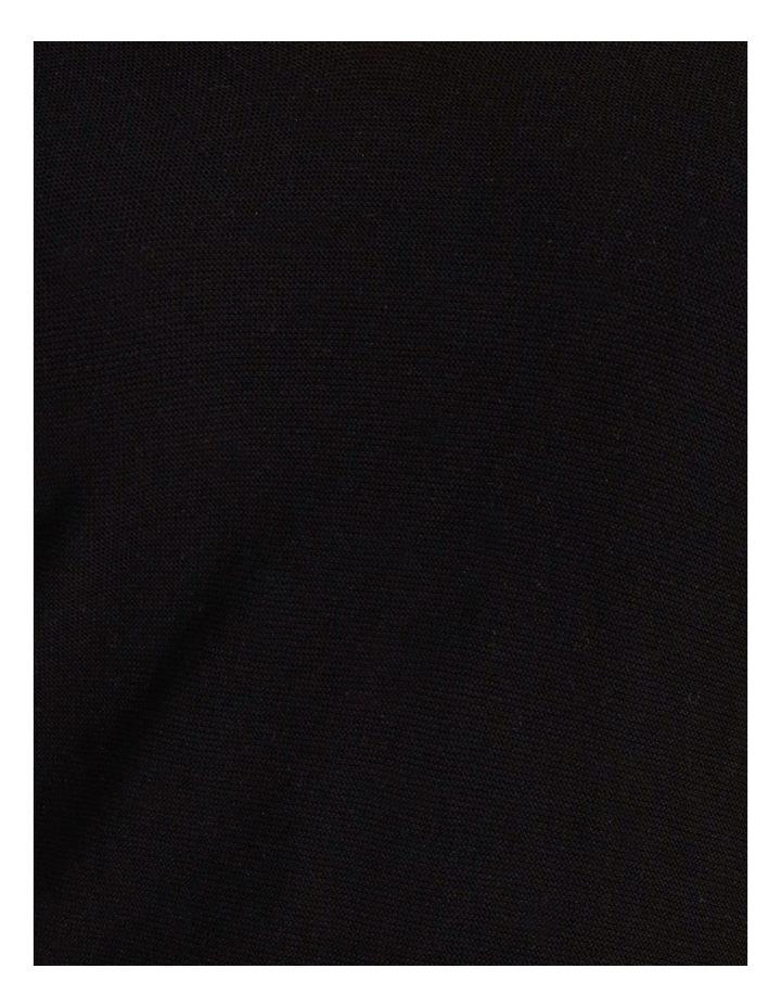Olive Grove V Neck Long Sleeve Step Hem Jumper image 5