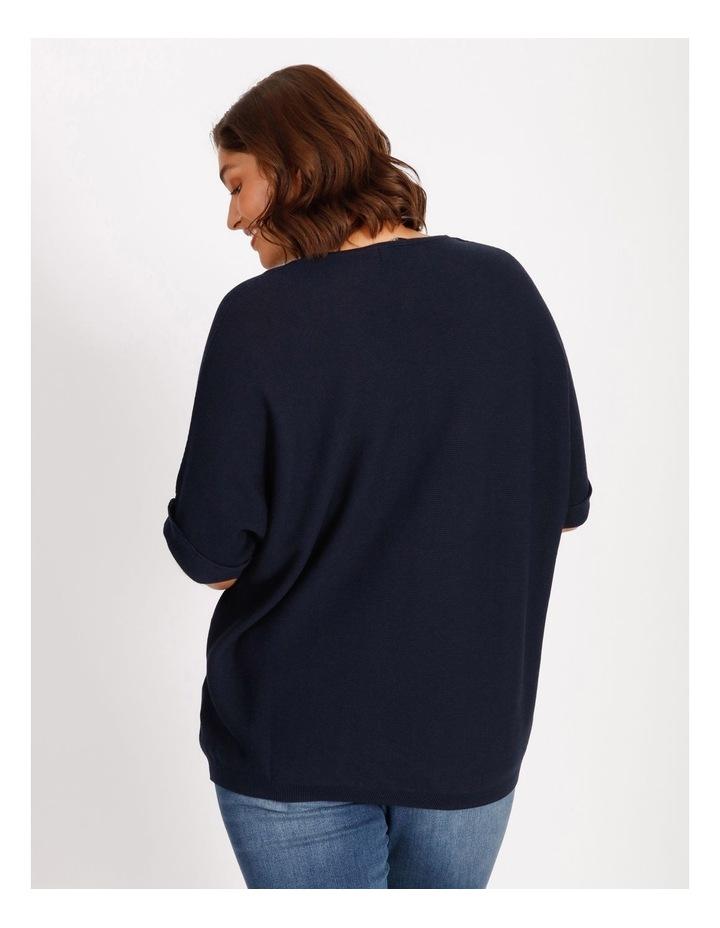 Short Sleeve Jumper With V-Neck image 3