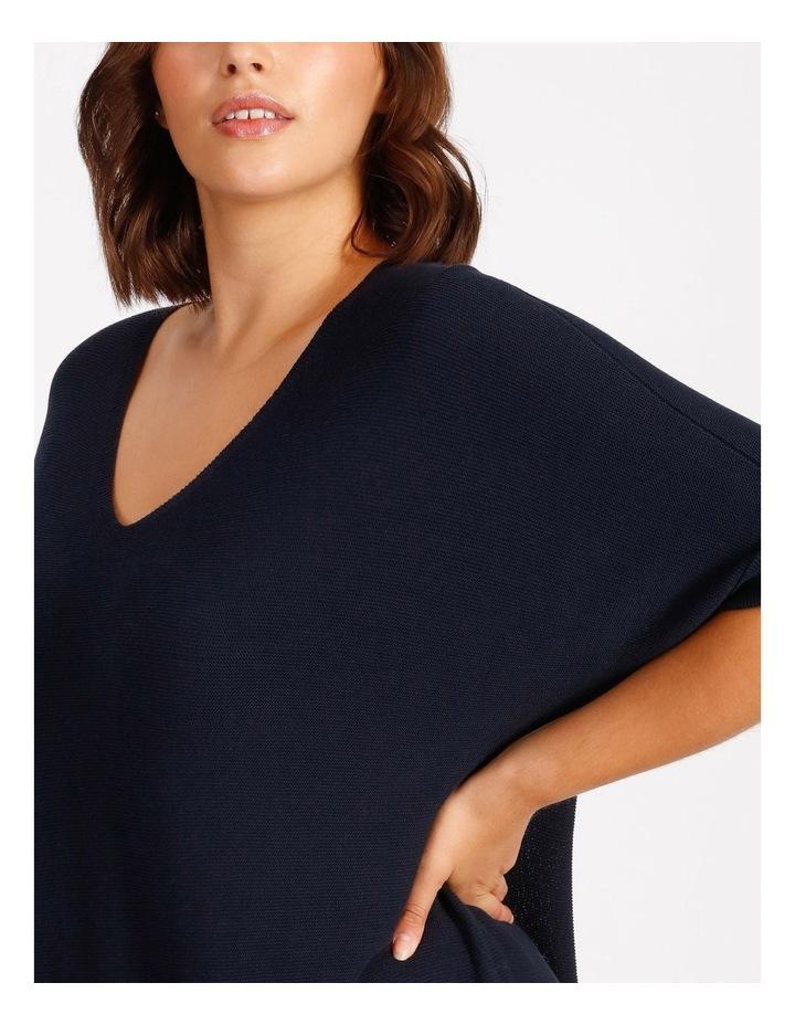 Short Sleeve Jumper With V-Neck image 4