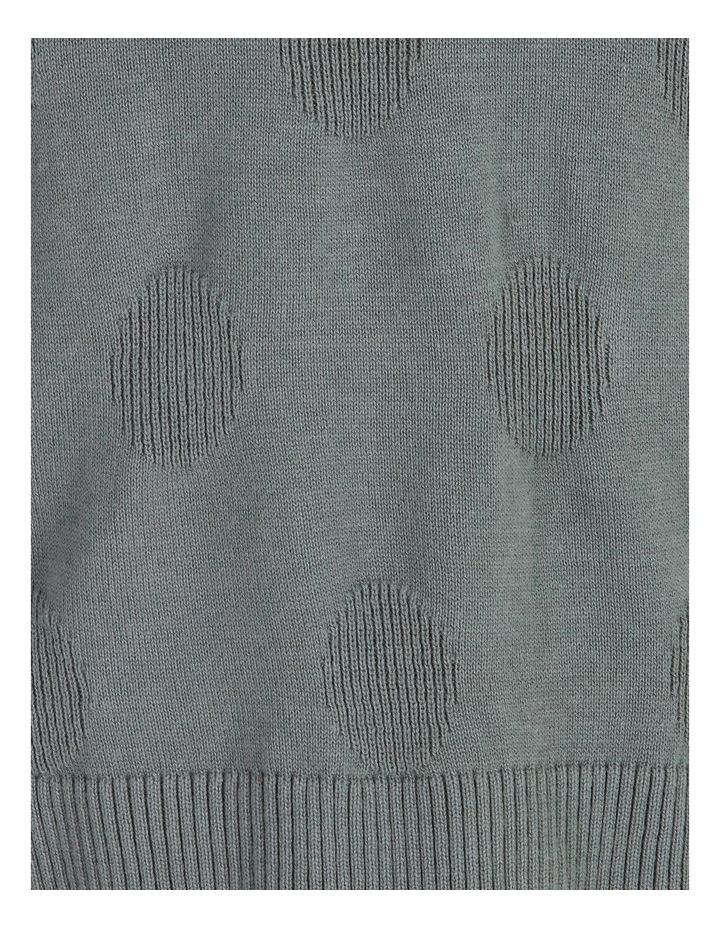 Pillar & Pine Long-Sleeve Textured Spot Jumper image 5