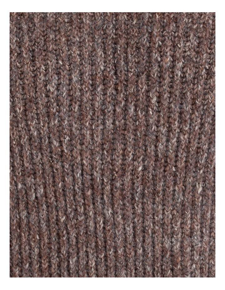 Pillar & Pine Raglan Sleeve Stand Neck Jumper With Cuffs image 6
