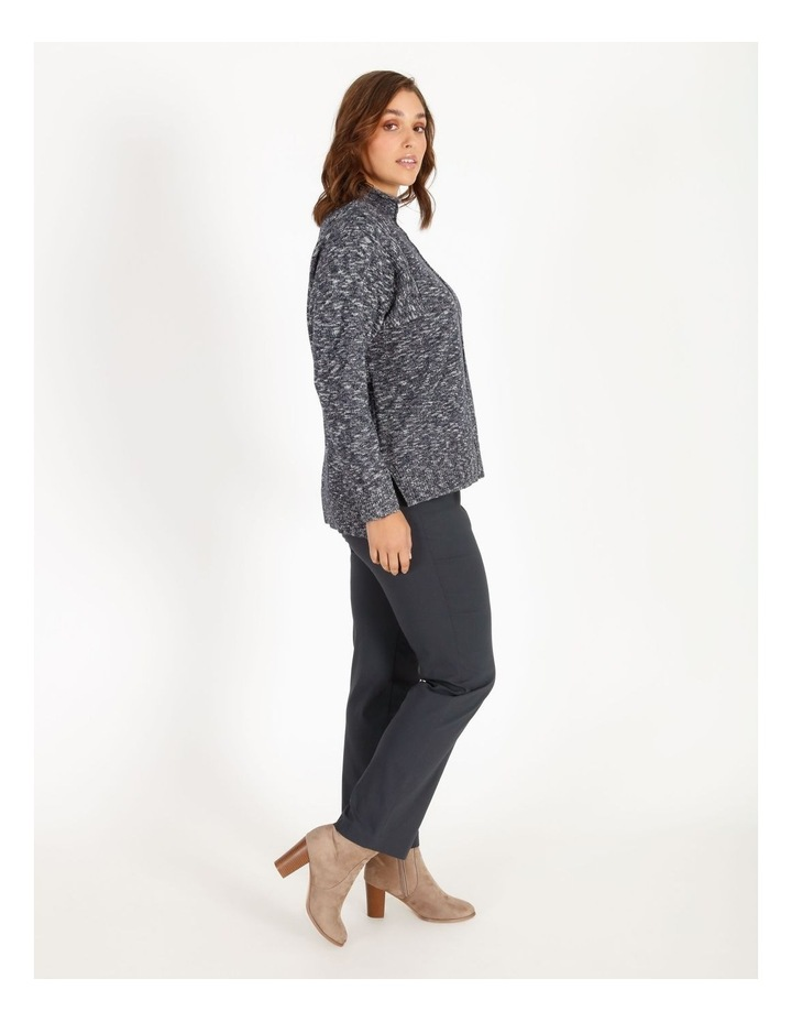 Stand Collar Jumper With Square Armholes image 2