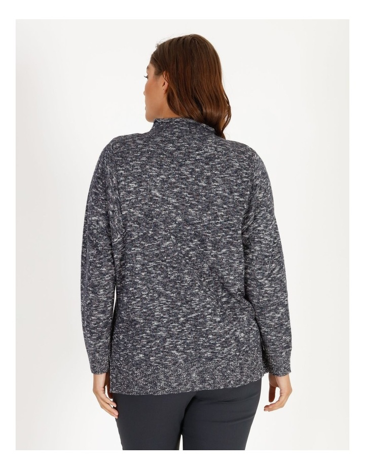 Stand Collar Jumper With Square Armholes image 3