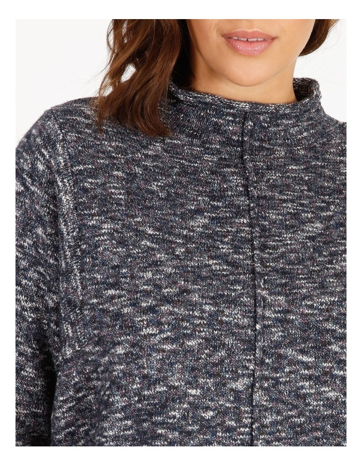 Stand Collar Jumper With Square Armholes image 4
