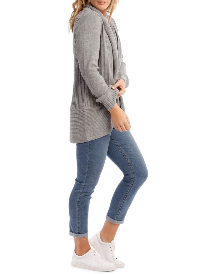 Cocoon Long Sleeve Cardigan image 2