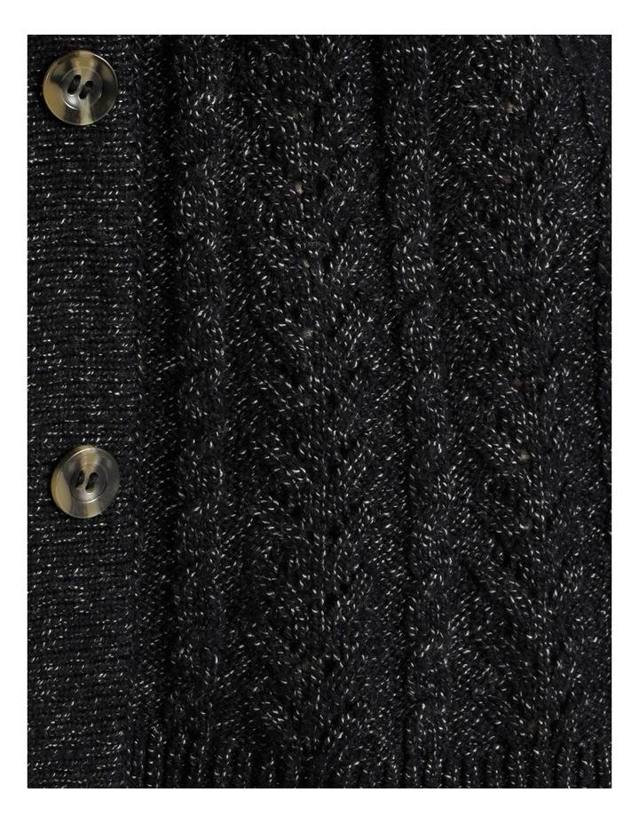 Kindled 3 Button Cardigan With Hi-Lo Hem image 5
