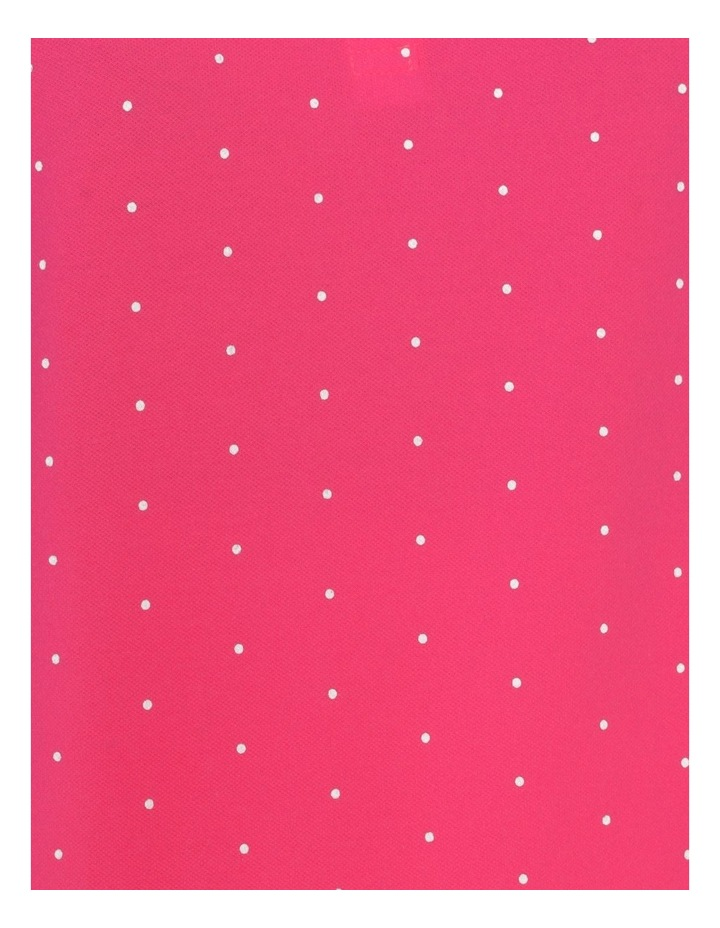 Core Short Sleeve Polo Hot Pink/White Spot image 7