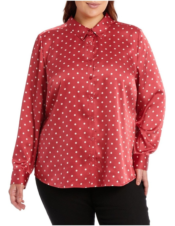 Long Sleeve Shirt With Collar image 1