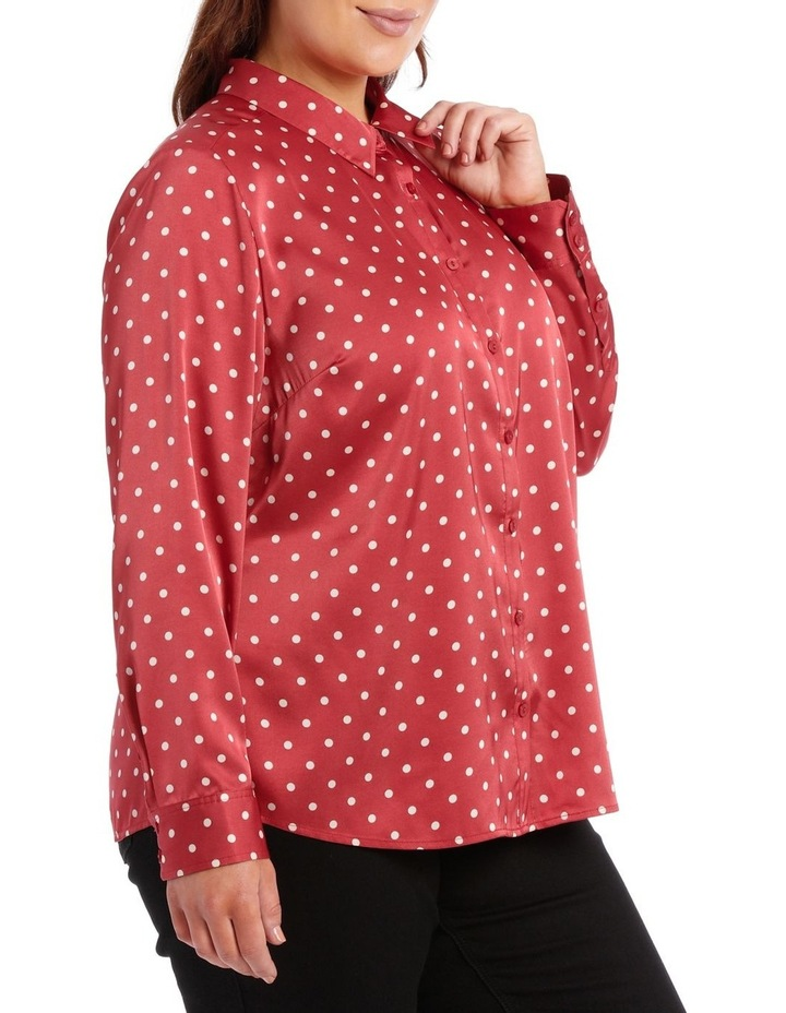 Long Sleeve Shirt With Collar image 2