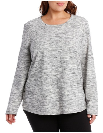 2a73e00b8f3 Regatta WomanLace Up Side L S Sweat-Grey Space Dye. Regatta Woman Lace Up  Side L S Sweat-Grey Space Dye