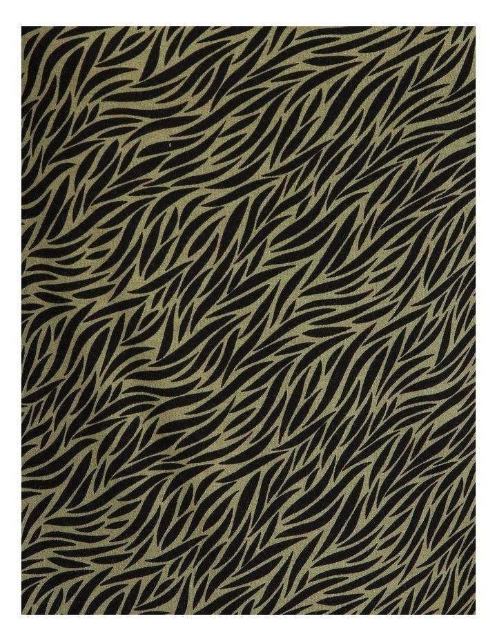 Olive Grove Cowl Neck 3/4 Length Sleeve Tee image 5