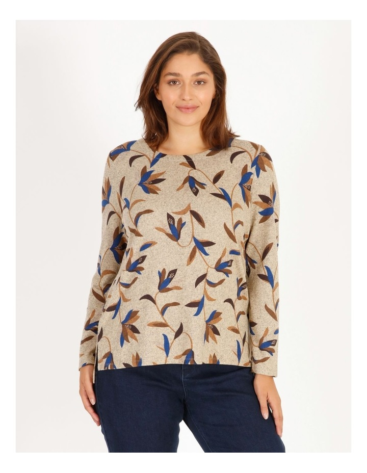 Burnished Long-Sleeve Soft Touch Tee image 1