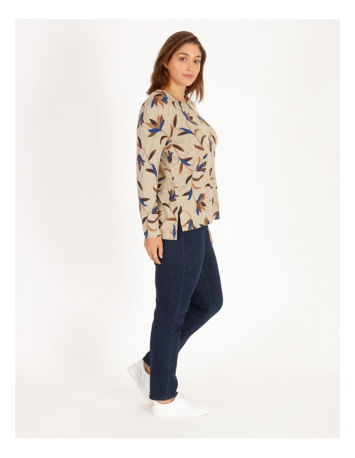 Burnished Long-Sleeve Soft Touch Tee image 2