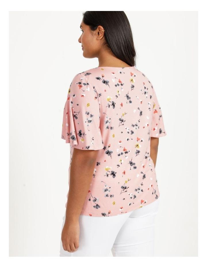 Flutter Short Sleeve Tee Pink Floral image 5