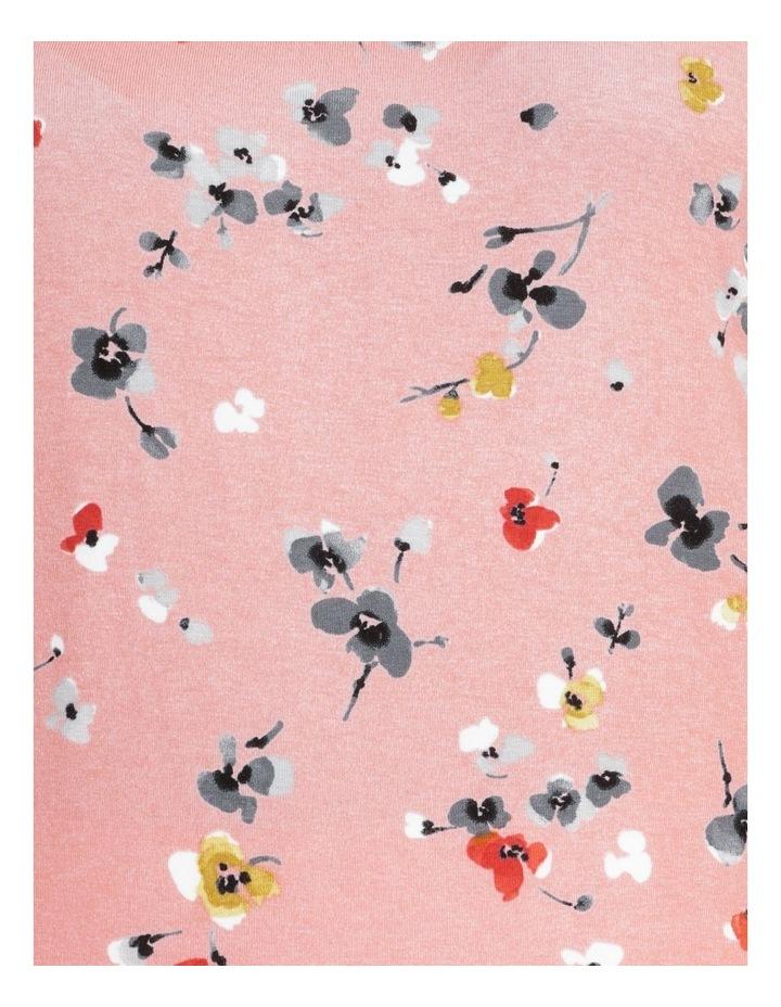 Flutter Short Sleeve Tee Pink Floral image 7