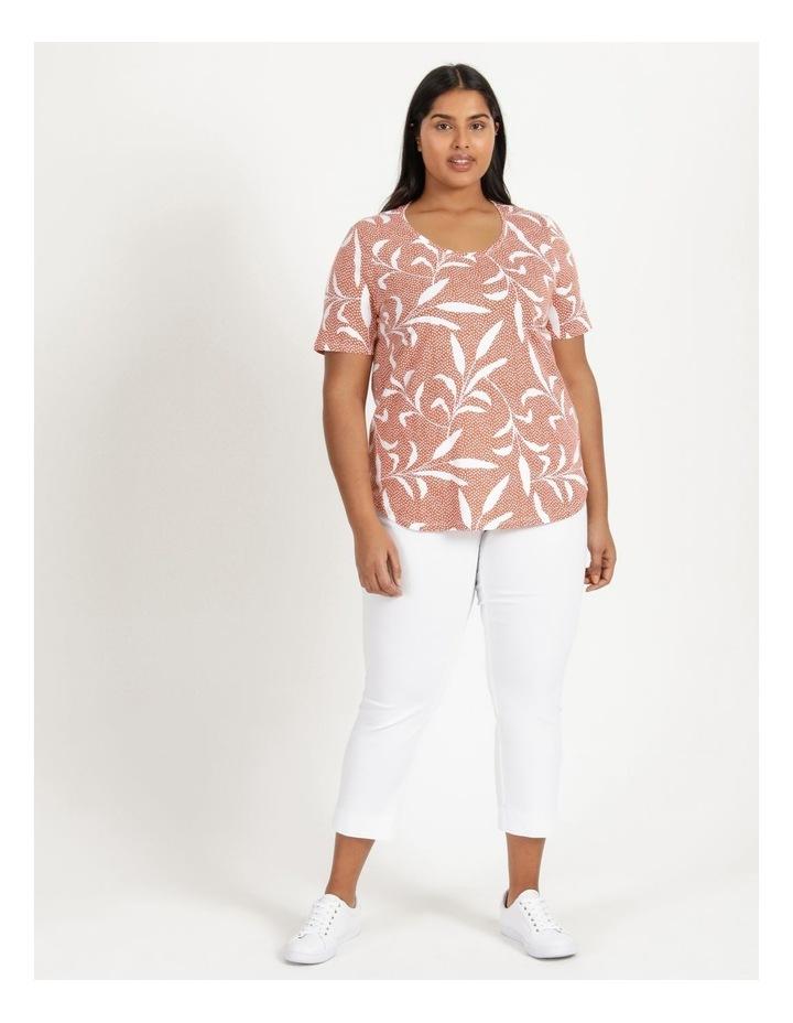 Wardrobe Staple Short Sleeve Tee Orange Spot Tropical image 2