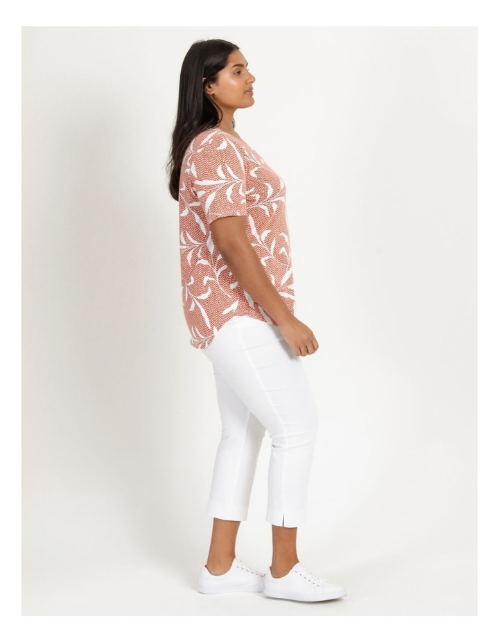 Wardrobe Staple Short Sleeve Tee Orange Spot Tropical image 4