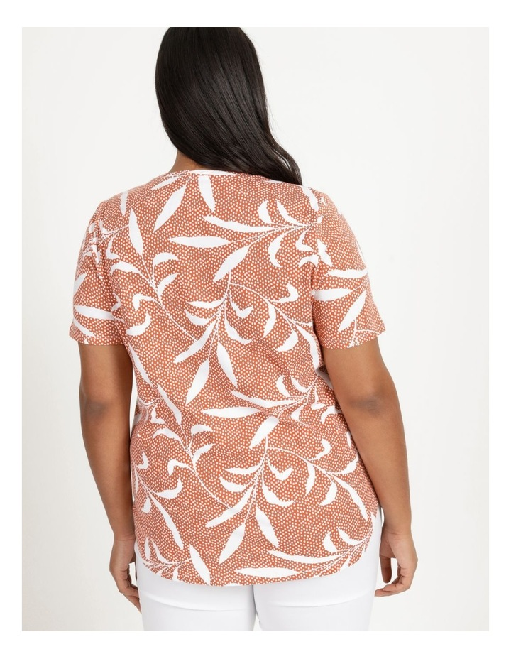 Wardrobe Staple Short Sleeve Tee Orange Spot Tropical image 5