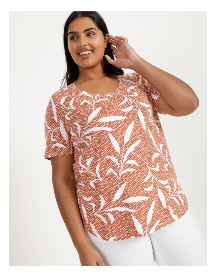 Wardrobe Staple Short Sleeve Tee Orange Spot Tropical image 6