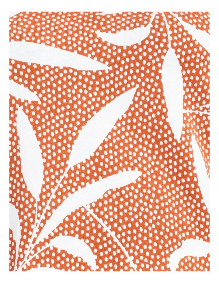 Wardrobe Staple Short Sleeve Tee Orange Spot Tropical image 7