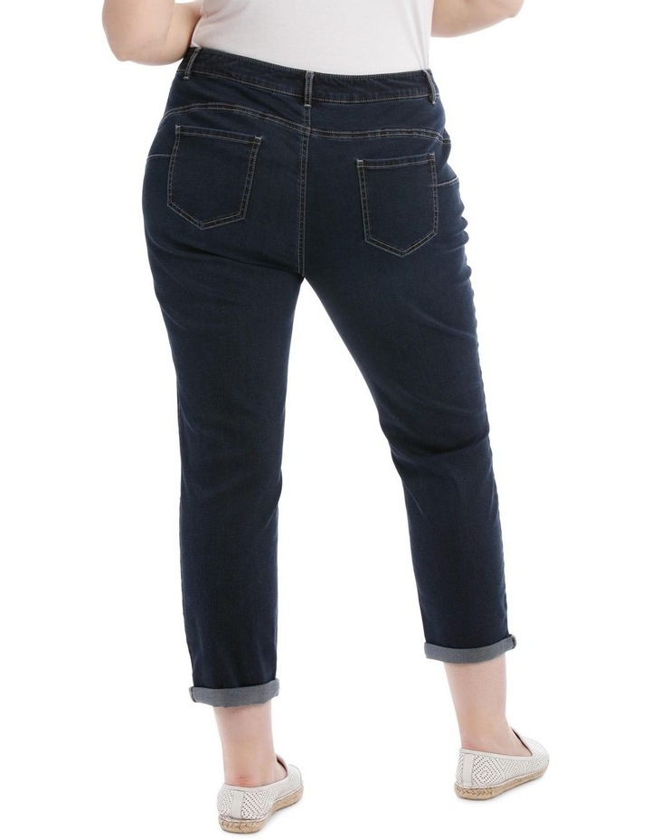 Essential Stretch Denim Crop image 3