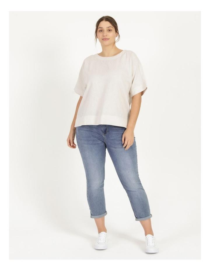 Wardrobe Staple Denim Crop Jean Mid Wash image 1