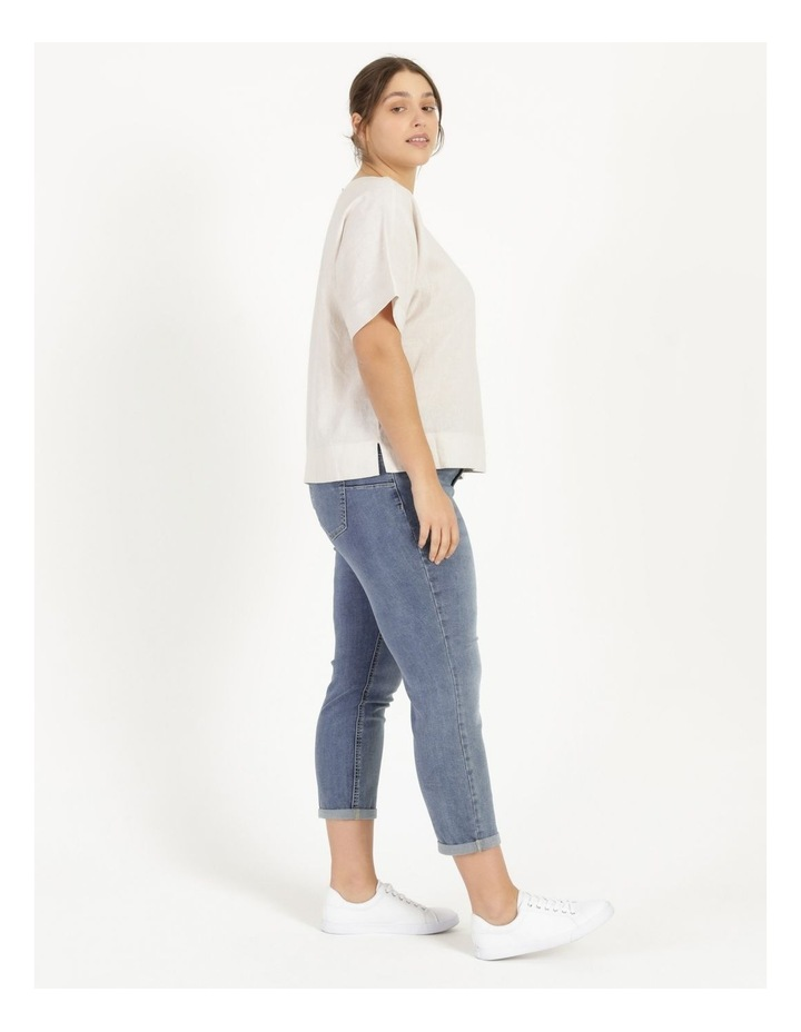 Wardrobe Staple Denim Crop Jean Mid Wash image 2