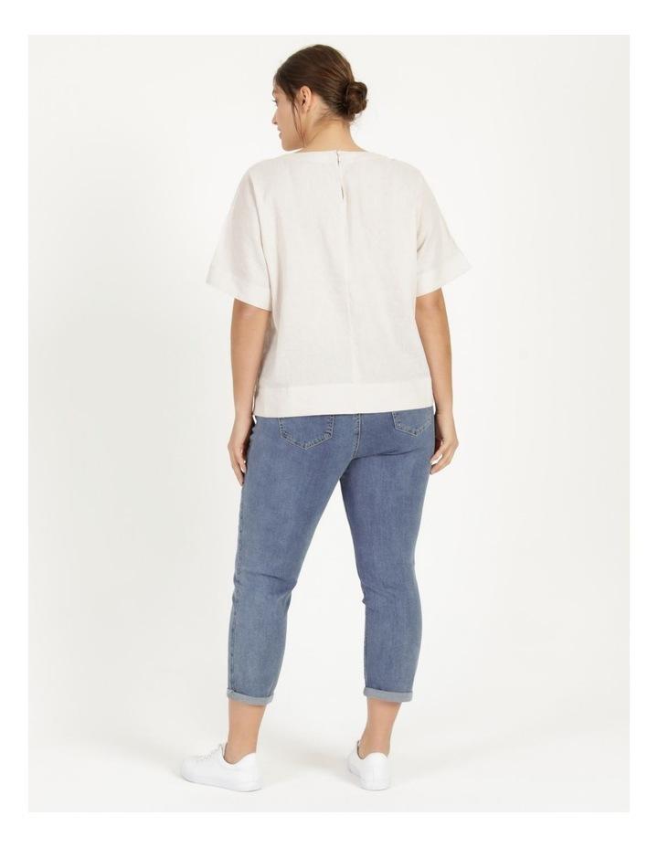 Wardrobe Staple Denim Crop Jean Mid Wash image 5