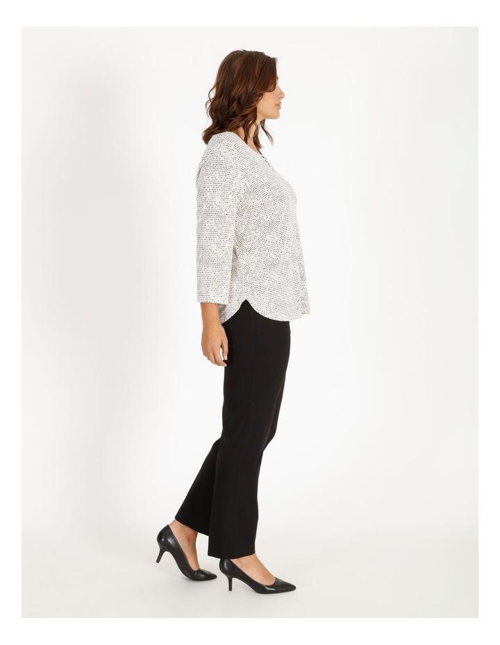 Wardrobe Staple Black Full Length Straight Leg Pants image 2