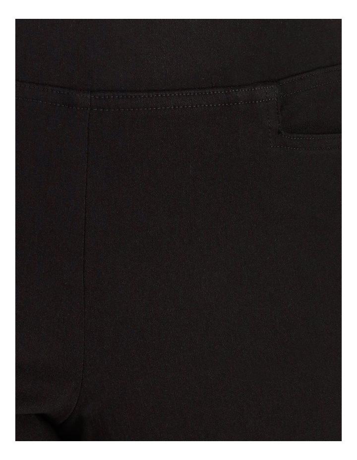 Wardrobe Staple Black Full Length Straight Leg Pants image 5