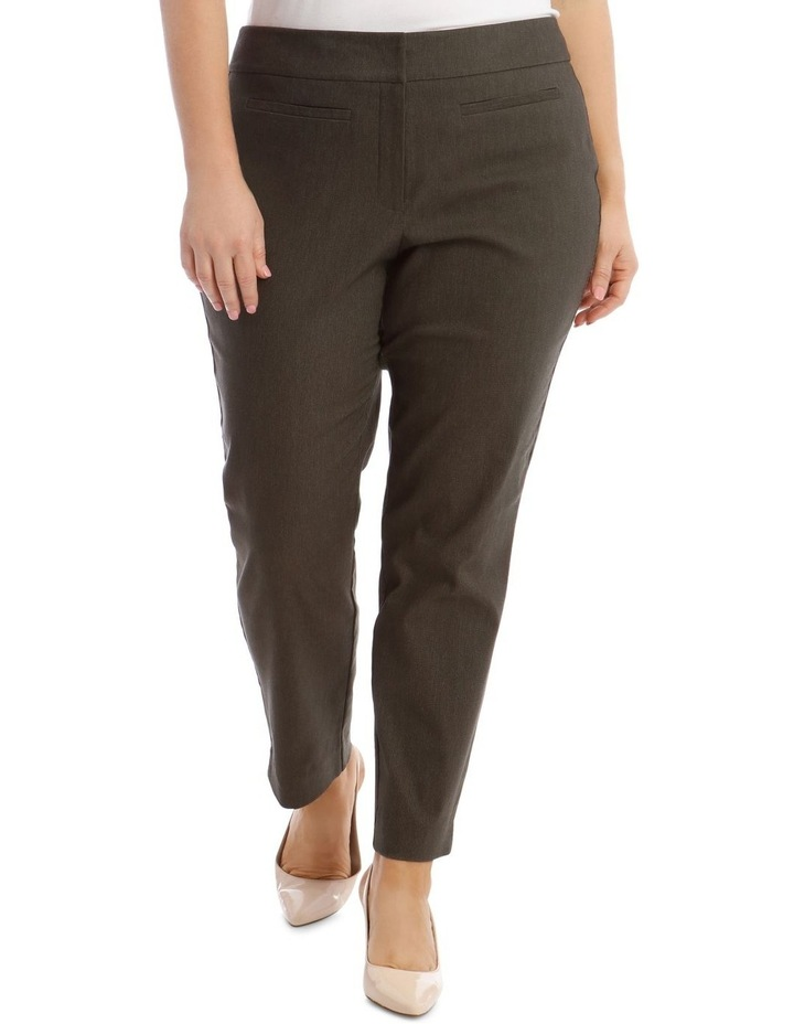 Slim Textured Full Length Bengaline Pant image 1