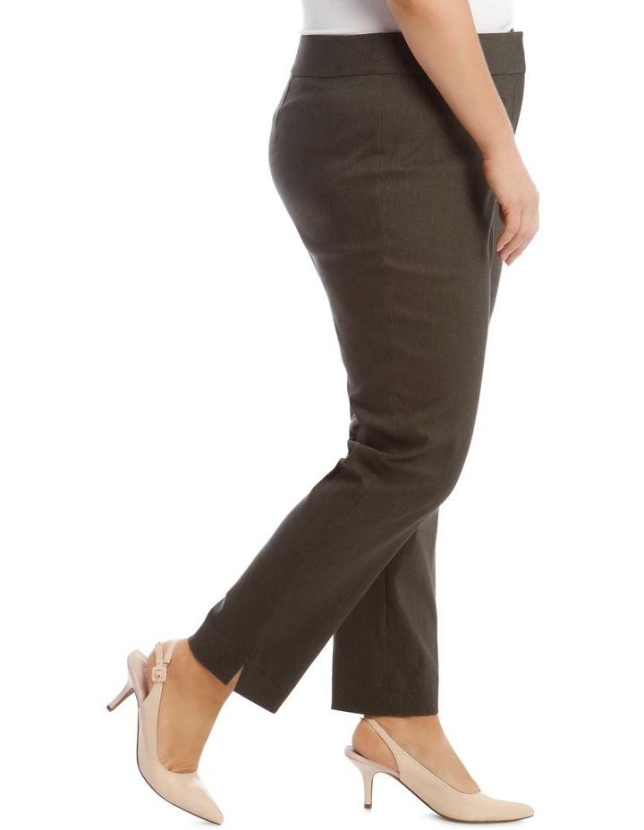 Slim Textured Full Length Bengaline Pant image 2